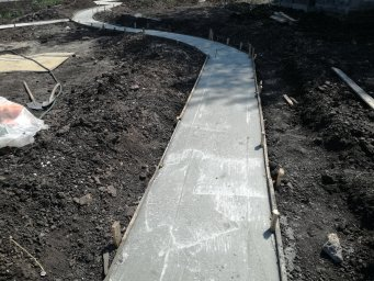 Залитый бетон