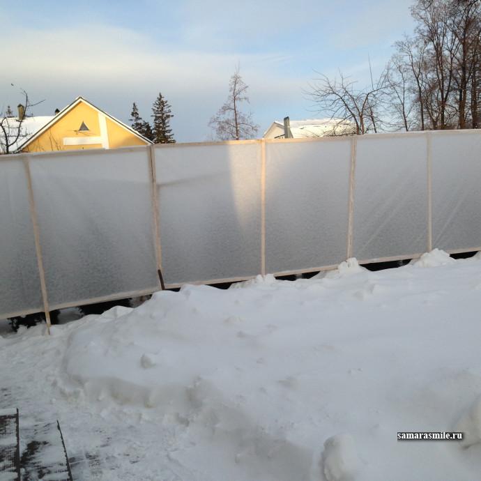 Укрытие хвойных растений в зимний период