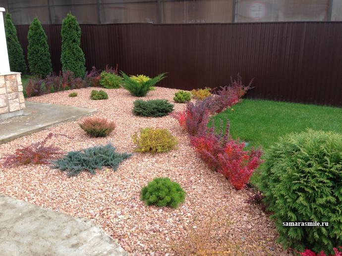 посадки растений