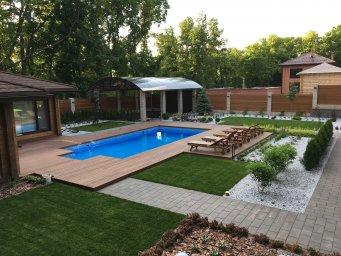 ландшафтный дизайн бассейн ландшафт под ключ