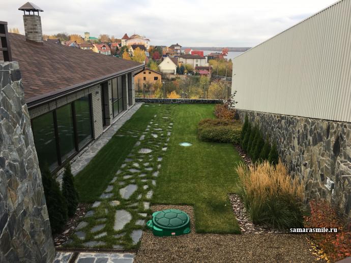 Комплексное озеленение участков ландшафтный дизайн в самаре